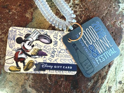 Legoland Gift Card Balance - disney unveils new wristlet gift cards for california adventure food wine festival