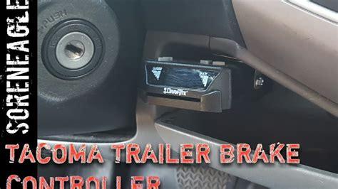 tacoma  gen trailer brake controller install towing diy
