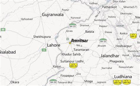 amritsar maps amritsar weather station record historical weather for