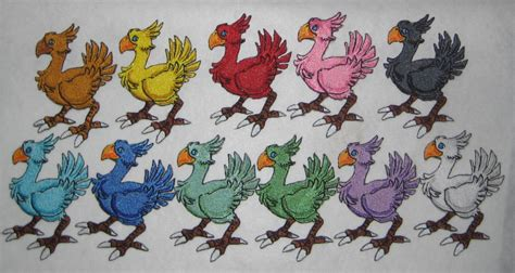 chocobo colors chocobo your color iron on