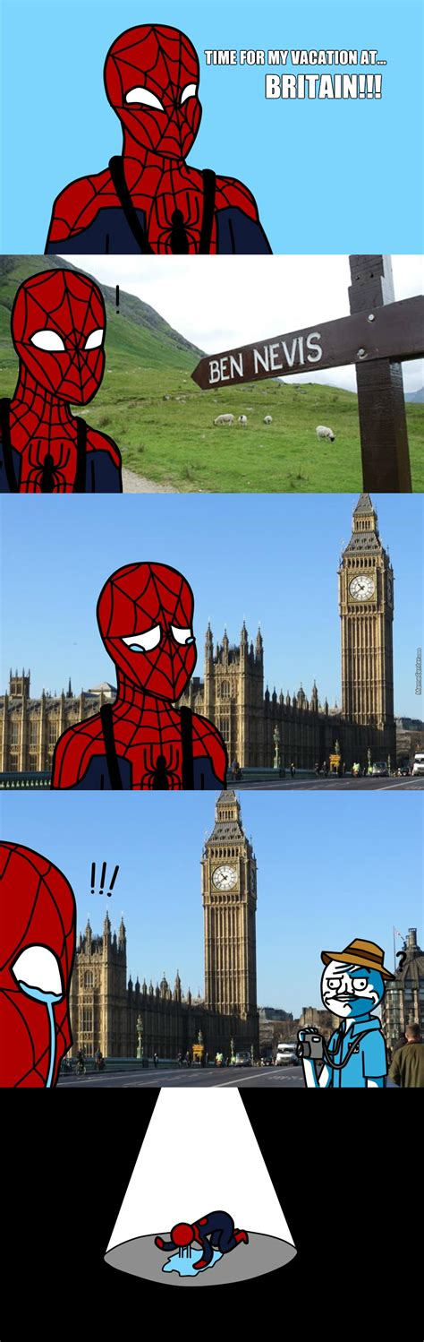 Best Spiderman Memes - spiderman s ultimate vacation by idiot guy meme center