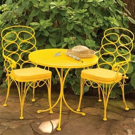 Yellow Patio Furniture with Adorable Yellow Patio Furniture Homes Pinterest