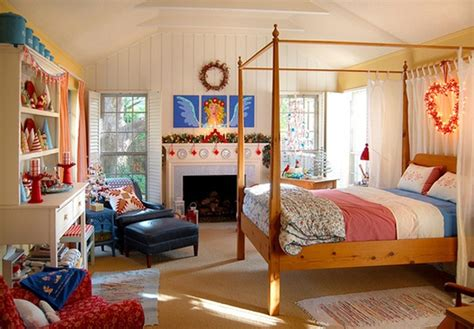 decorations for bedrooms inspiring christmas bedroom decorating ideas