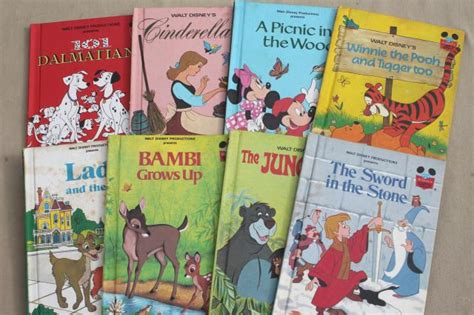 disney s classics books vintage picture books lot walt disney presents disney