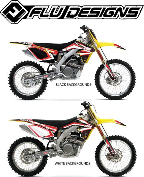 flu design graphics review flu designs 2013 ts1 graphic kit suzuki bto sports