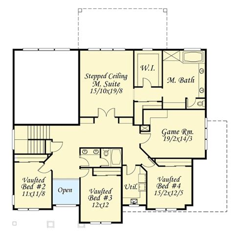master up floor plans 5 bed master up beauty 85059ms architectural designs