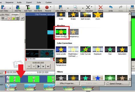 tutorial menggunakan aplikasi videopad cara menggunakan efek green screen pada videopad inwepo