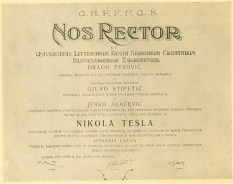 Nikola Tesla Awards Above Nikola Tesla 1856 1943 At The Age Of 38