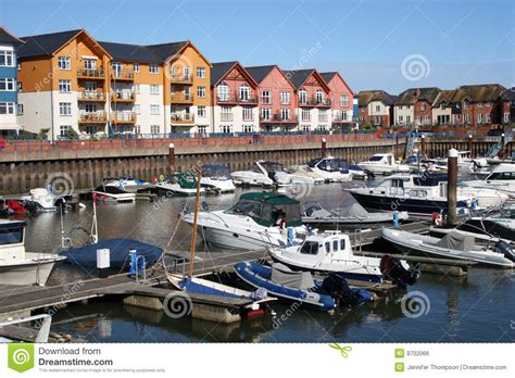 boat mooring exmouth exmouth marina stock photo image of quay seafront