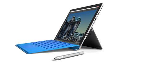 Laptop Microsoft Surface Pro 4 surface pro 4 et surface book microsoft pousse le