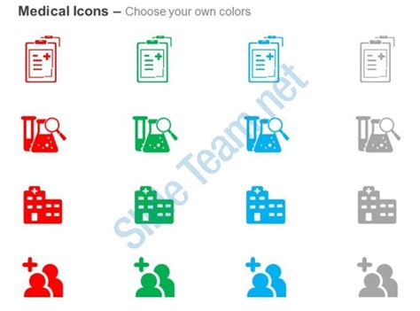 theme ppt hospital medical report research hospital care ppt icons graphics