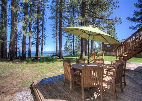 patio boat rental lake tahoe 15 best pavati lakefront vacation rental south lake