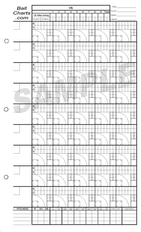 baseball pitching chart template softball pitching charts printable pictures to pin on
