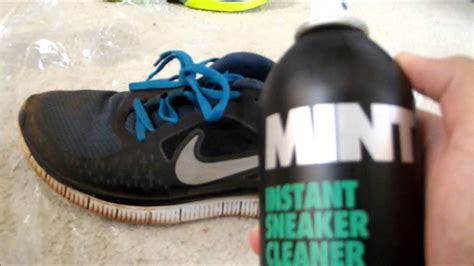 mint shoe cleaner mint instant sneaker cleaner review