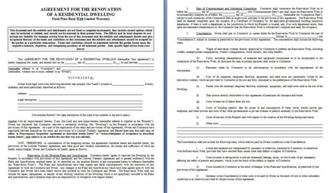 Contracts Templates by Free Contract Templates Word Pdf Agreements Part 2