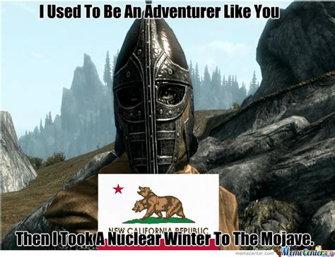 Arrow To The Knee Meme - patrolling skyrim almost makes you wish for an arrow to