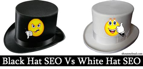 White Hat Seo by Black Hat Seo Vs White Hat Seo Understand The Difference