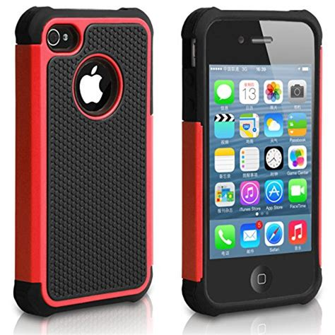 Apple Iphone 4 4s Shock Proof Future Armor Hybrid Casing Sarung pasonomi iphone 4 premium heavy duty hybrid shockproof durable bumper armor cover for apple
