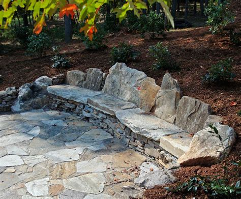 flagstone bench diy stone bench google search gardening accents pinterest stone bench bench