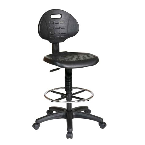 drafting stool for standing desk rolling office chairs leather drafting chair standing