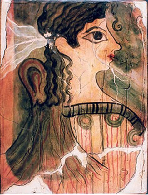 la parisina gua de reproducciones de pinturas de creta y micenas