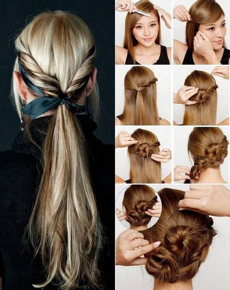 easy simple and beautiful hairstyles beautiful easy hairstyles