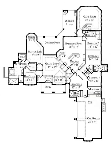 floor house planning for large families