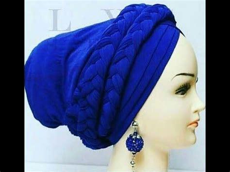 long twisted turbancap diy youtube