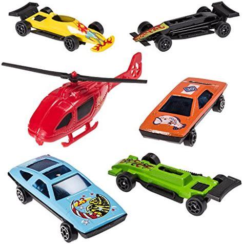 amazoncom 50 pc race car set metal plastic die cast prextex 100 pc die cast toy cars party favors easter eggs