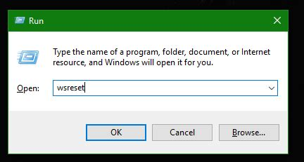 resetting windows cache reset windows store cache in windows 10 to fix issues with