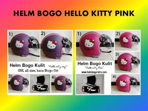 Helm Bogo Pink Hello 0823 3484 9907 t sel helm bogo hello kaca cembung
