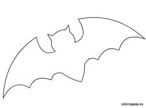 bat template printable best photos of bat template to print
