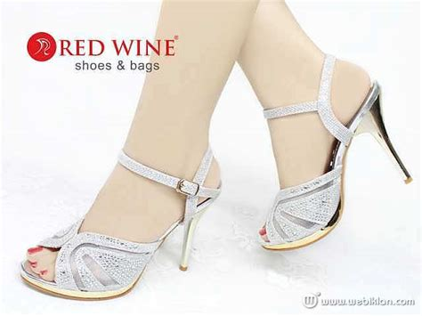 Sepatu High Heels Pesta Gold Blink Bunga Import 3016 rahmatkucing