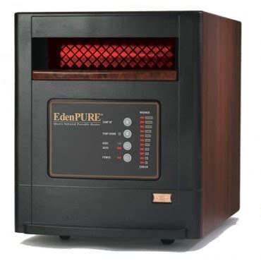 edenpure comfort air edenpure gen4 1000 quartz infrared heater