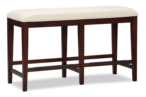 counter height dining bench zeno counter height dining bench the brick