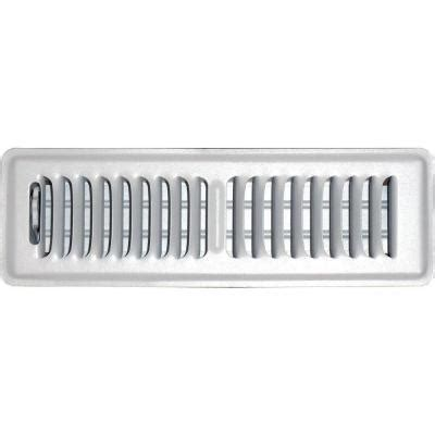 speedi grille 2 in x 10 in floor vent register white