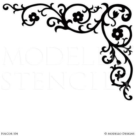 corner template designs corner stencils modello 174 designs