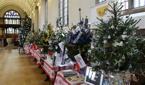 first christmas tree festival lights up st michael s
