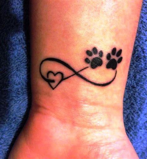 cute dog paw print memorial wrist tattoos insigniatattoo com