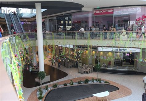 Garden Mall by Garden Mall Croatia Built By Zagorje Tehnobeton