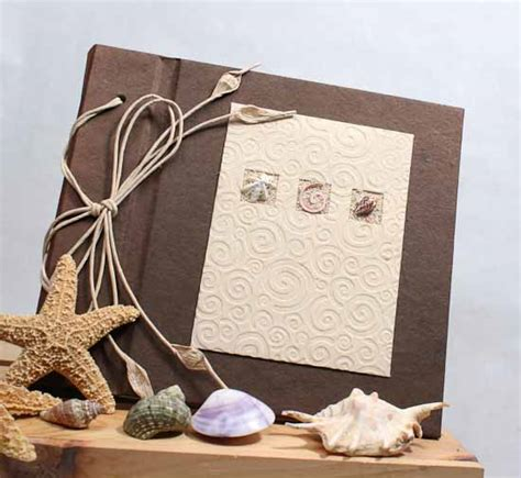 Handmade Paper Photo Album - handmade paper crafted scrapbook photo album new items