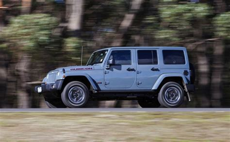 10th anniversary jeep rubicon jeep wrangler rubicon 10th anniversary edition launched