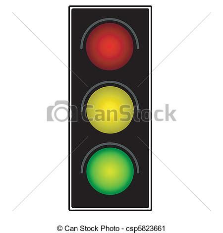 Traffic Light Drawing by Vector Clip Of Traffic Light Csp5823661 Search