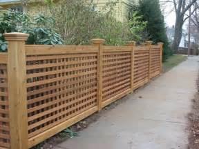 Wooden Trellis Fence Designs Menards Wood Fencing Fence Ideas