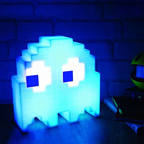 Home Decor Theme by Pac Man Usb Ghost Lamp Thinkgeek