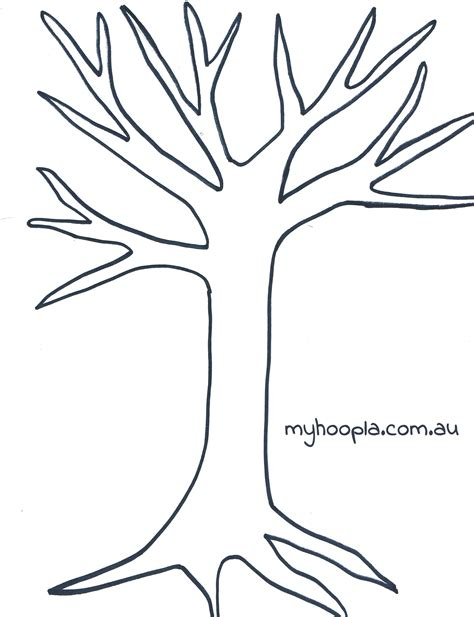 Tree Drawing No Leaves At Getdrawings Com Free For Personal Use Tree Drawing No Leaves Of Your Tree Template To Print