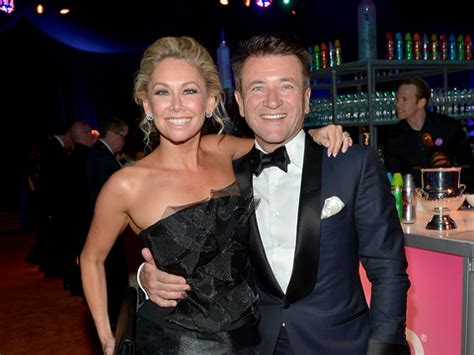 robert herjavec and kym johnson talk dating rumors are dwts pro kym johnson shows off engagement ring talks