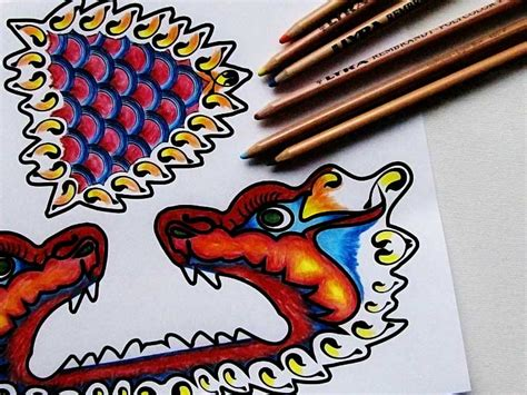printable paper dragon search results for chinese new year dragon puppet