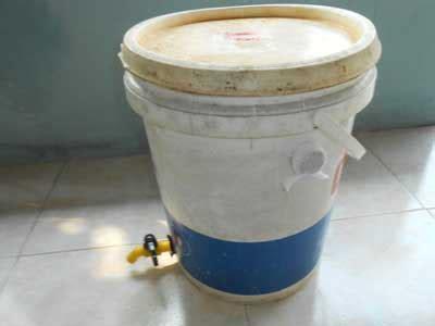 membuat rumah plastik gambar membuat komposter mini rumah tangga ember bekas