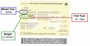 register a new car sle registration document for finding an inspection